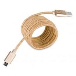 CORDON MICRO USB DORE 3M