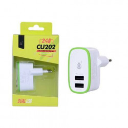 CHARGEUR DOUBLE 2,1A + 1A