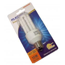 LAMPE ECO 4 TUBES 15W E27 TAXE