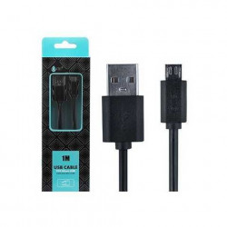 CABLE USB 2.0 - USB MICRO 1M