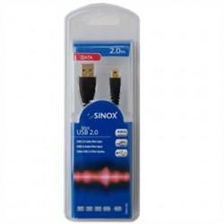 C BLE USB-A M / USB MINI - 2.M