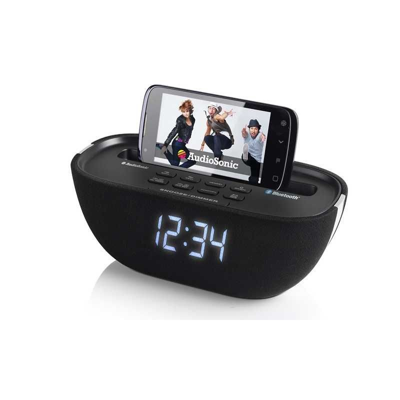 radio reveil bluetooth usb sidem. Black Bedroom Furniture Sets. Home Design Ideas