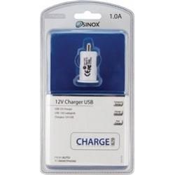 CHARGEUR AUTO USB 12V POUR T L