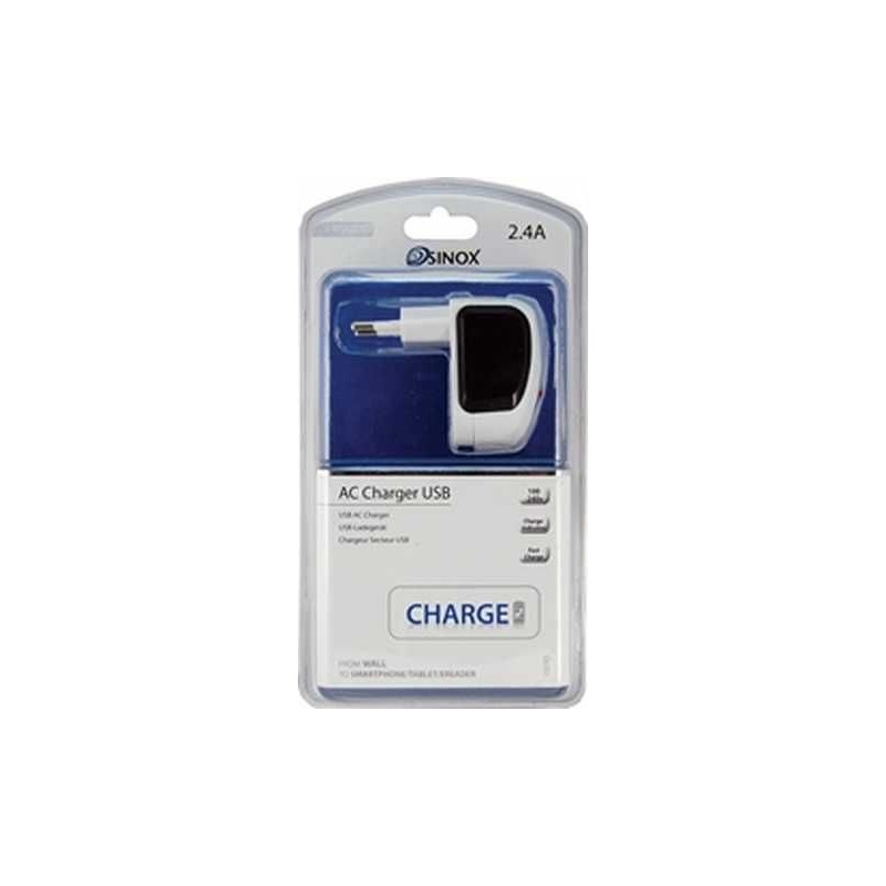 Chargeur mural usb tab 2 4 sidem for Chargeur mural usb